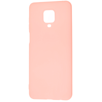 Чехол Soft Touch Xiaomi Redmi Note 9s/9 Pro (розовый)