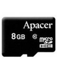 Карта памяти Apacer Micro SD 8gb (10cl)