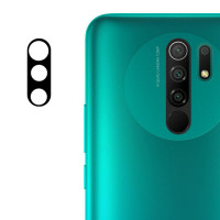 Защитное стекло на камеру Xiaomi Redmi 9 (Black) 0.18mm