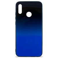 Чехол Glass Case Gradient Huawei Y6 2019 (Blue Abyss)