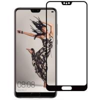 Защитное стекло Huawei P20 3d 0.33mm (Black) 2018