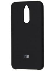Чехол Silky Xiaomi Redmi 8 (черный)