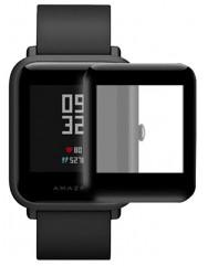Полімерна плівка  3D (full glue)  для Xiaomi Amazfit S/ Bip/ Bip Lite (3D Black)
