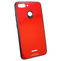 Чехол Glass Case Xiaomi Redmi 6 (Red)