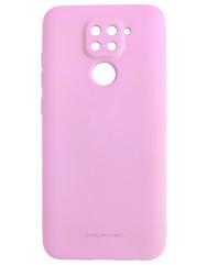Чехол Molan Xiaomi Redmi Note 9 (розовый)