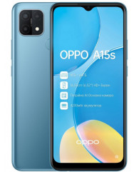 OPPO A15s 4/64GB (Mystery Blue)
