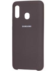 Чехол Silky Samsung Galaxy A40 (какао)