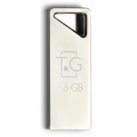 Флешка USB T&G 111 Metal 8Gb (Silver)