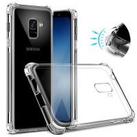 Чехол усиленный для Samsung Galaxy S9+ (прозрачный)