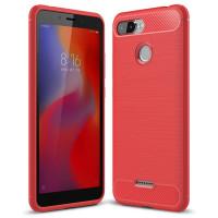 Чехол Carbon Xiaomi Redmi 6 (красный)