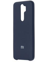 Чехол Silky Xiaomi Redmi Note 8 Pro (темно-синий)