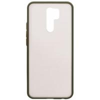 Чехол LikGus Maxshield матовый Xiaomi Redmi 9 (зеленый)
