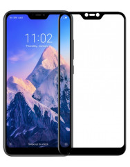 Защитное стекло Xiaomi Redmi Note 6 pro (3D Black) 0.33mm