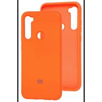 Чехол Silicone Case Xiaomi Redmi Note 8T (оранжевый)