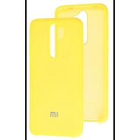 Чехол Silky Xiaomi Redmi Note 8 Pro (желтый)