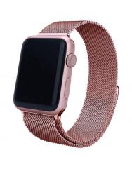 Ремінець Milanese для Apple Watch 38/40mm (рожеве золото)