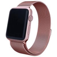 Ремешок Milanese для Apple Watch 38/40mm (розовое золото)