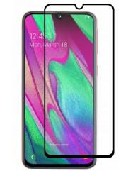 Стекло Samsung Galaxy A40 (5D Black)