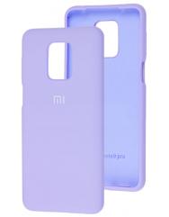 Чехол Silicone Case Xiaomi Redmi Note 9s/9 Pro (лавандовый)