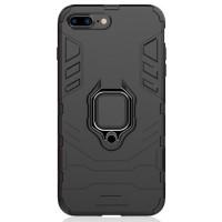 Чехол Armor + подставка iPhone 7/8 Plus (черный)