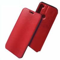 Книга LUX Xiaomi Redmi Note 8T (красный)