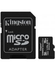 Карта памяти Kingston Canvas Select Plus micro SD 16gb (10cl) + SD Adapter