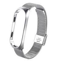 Ремешок для Xiaomi Band 3 Metal LUX (серебро)
