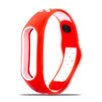 Ремешок для Xiaomi Band 2 Mijobs Sport (red-white)