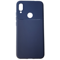 Чехол Soft Touch LINE Xiaomi Redmi Note 7 (Blue)