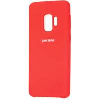 Чехол Silky Samsung Galaxy S9 (красный)