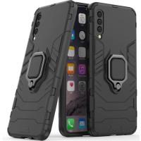 Чехол Armor + подставка Samsung Galaxy A50 / A50s / A30s (черный)