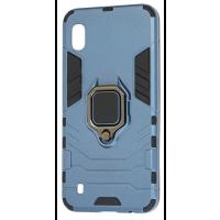 Чехол Armor + подставка Samsung Galaxy A01 (серый)
