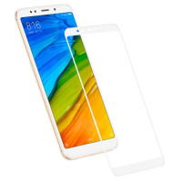 Защитное стекло для Xiaomi Redmi 5 (3D White) 0.33mm