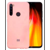 Чехол Silicone Case Xiaomi Redmi Note 8T (розовый)