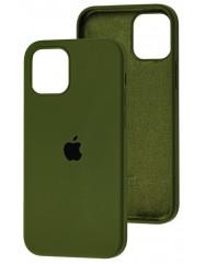 Чехол Silicone Case Iphone 12 Mini (хаки)