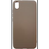 Чехол Soft Touch Xiaomi Redmi 7a (коричневый)