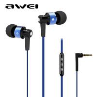 Вакуумные наушники Awei TE55vii (фиолетовый)