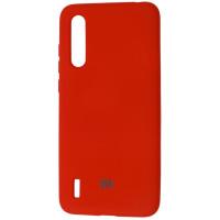 Чехол Silicone Case Xiaomi Mi CC9 / Mi 9 Lite (красный)