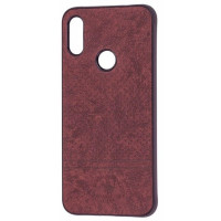 Чехол Velvet Xiaomi Redmi 7 (коричневый)