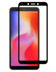 Скло Xiaomi Redmi 6/6a Antispy (5D Black) 0.33mm