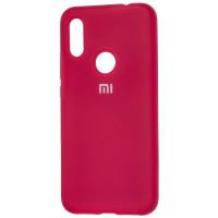 Чехол Silicone Case Xiaomi Redmi Note 5 (малиновый)