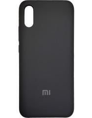 Чехол Silky Xiaomi Redmi 9a (черный)