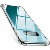 Чехол усиленный для Samsung Galaxy S10+ (прозрачный)