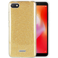Чехол Shine Xiaomi Redmi 6a (золотой)