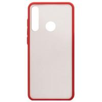 Чехол LikGus Maxshield матовый Huawei Y6p (красный)