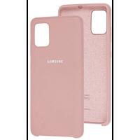 Чехол Silky Samsung Galaxy A51 (бежевый)