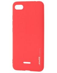 Чохол SMTT Xiaomi Redmi 6a (червоний)