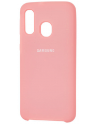 Чехол Silky Samsung Galaxy A40 (розовый)