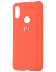 Чохол Silicone Case Xiaomi Redmi 7 (оранжевий)