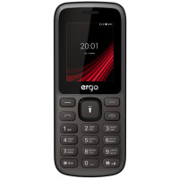 Ergo F185 Speak Dual Sim (Black)